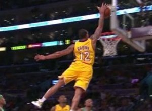 Shannon Brown Alley Oop