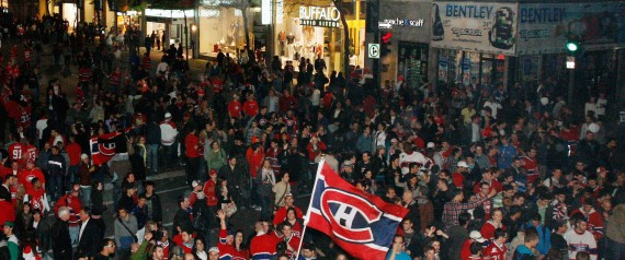 CELEBRATIONS FANS CANADIENS