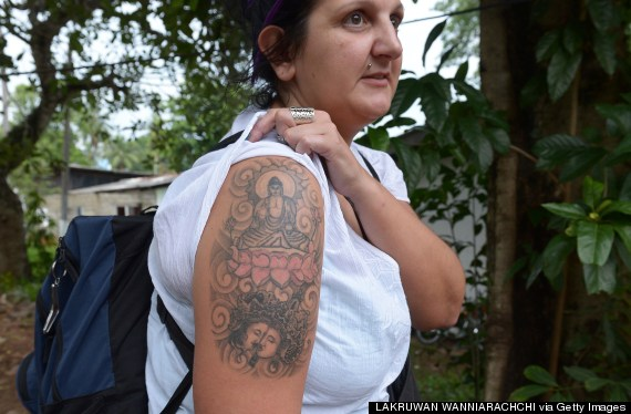 buddha tattoo sporting british tourist faces deportion from sri lanka for 39 hurting others. Black Bedroom Furniture Sets. Home Design Ideas