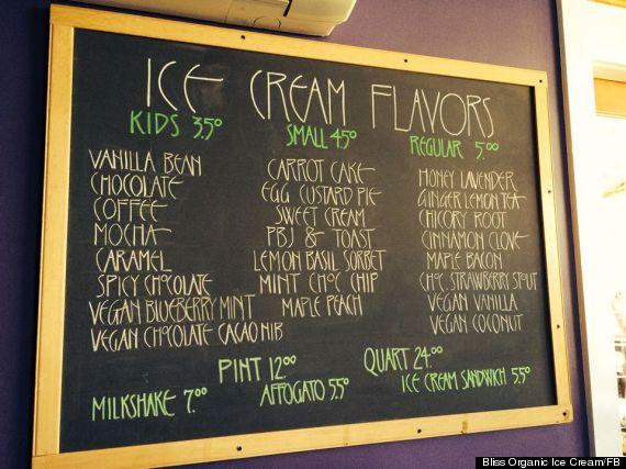bliss ice cream