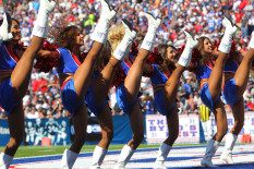 BUFFALO JILLS CHEERLEADER