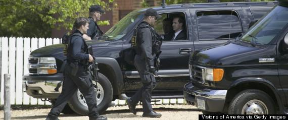 secret service suv