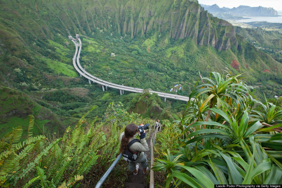 haiku stairs hawaii