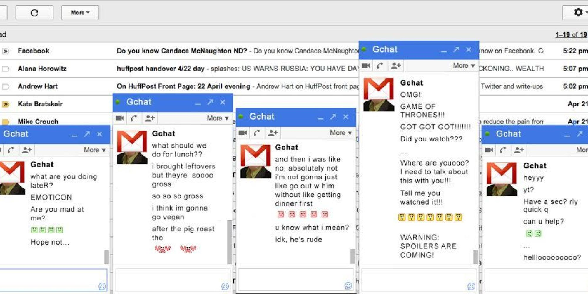 how to get gchat notifications
