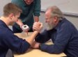 This Is Why You Shouldn't Challenge Your 70-Year-Old Professor To An Arm Wrestle..
