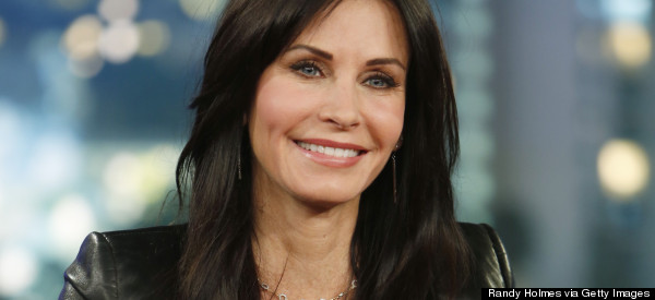 Courteney Cox Talks 'Friends' Reunion