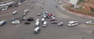 Meskel Square Traffic