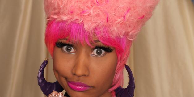 Nicki Minaj Real Hair 2012