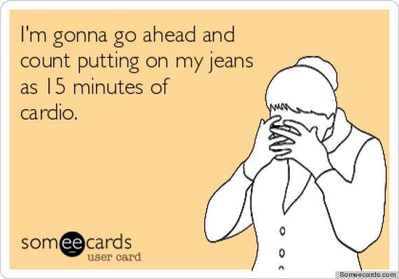 jeans cardio
