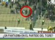 Footage Shows Ghostly Figure Sweep Across Soccer Stadium (VIDEO)