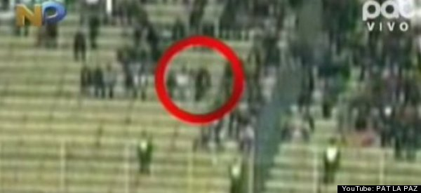 WATCH: Ghostly Figure Sweeps Across Soccer Stadium