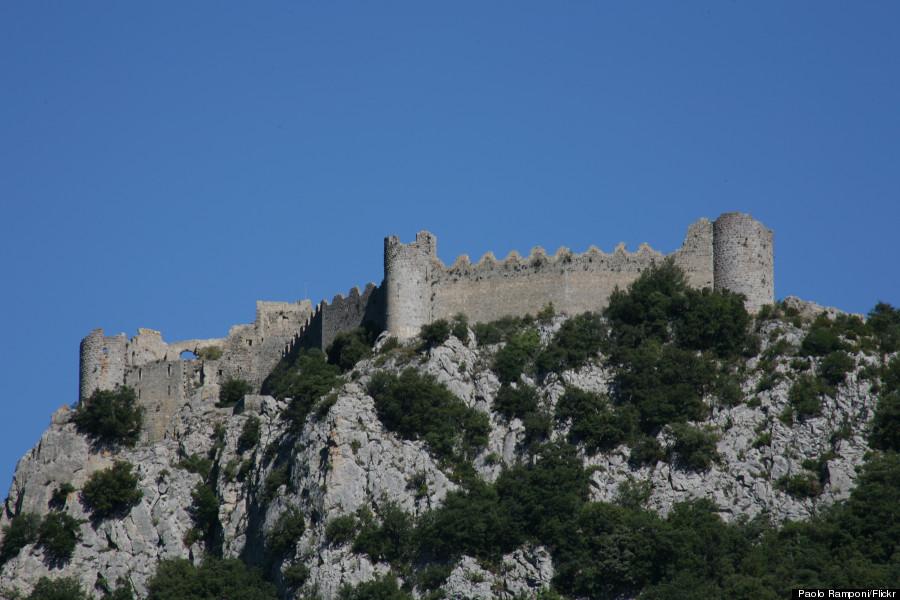 château de puilaurens cathar castle france