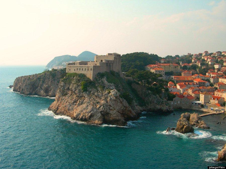 dubrovnik castle wall