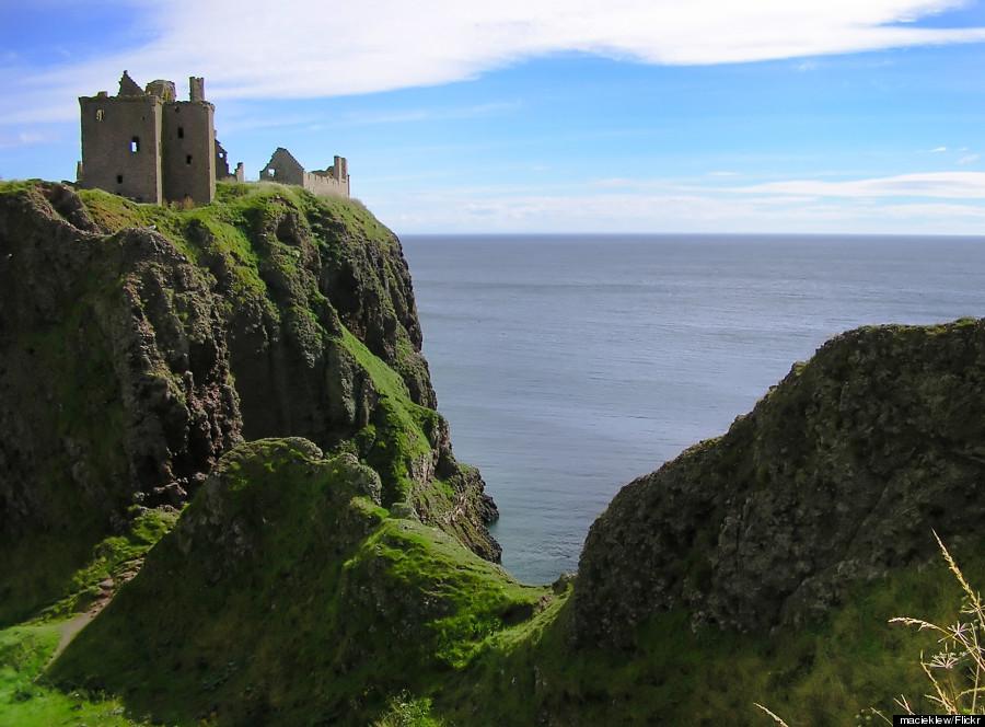 dunnottar castle angus