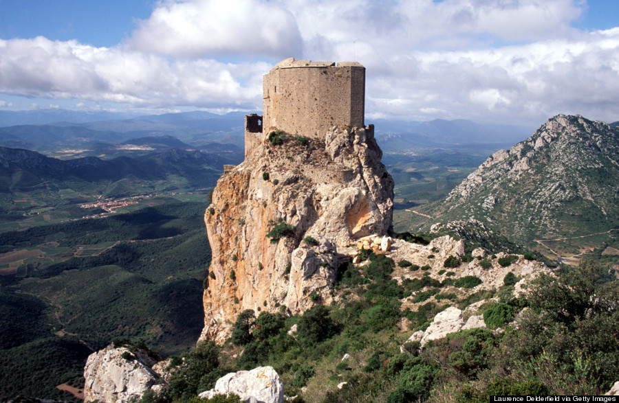 cathar castle queribus