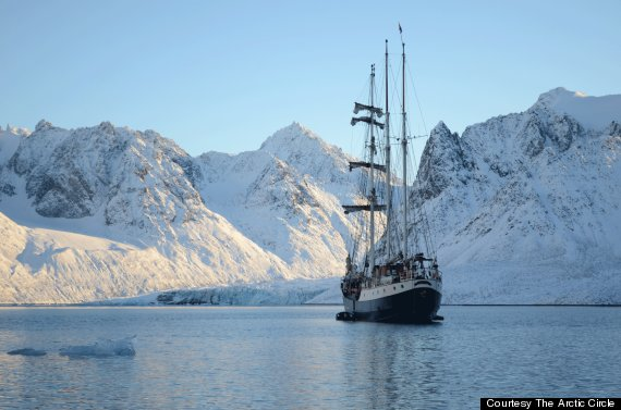 the arctic circle expedition