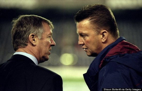 louis van gaal sir alex ferguson