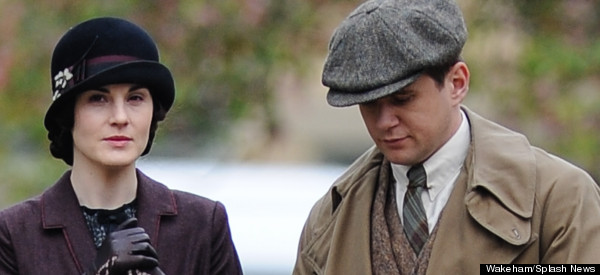 Pics: 'Downton Abbey' Cast Film New Series