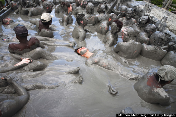 Take A Dunk In El Totumo Colombia S Magical Mud Volcano