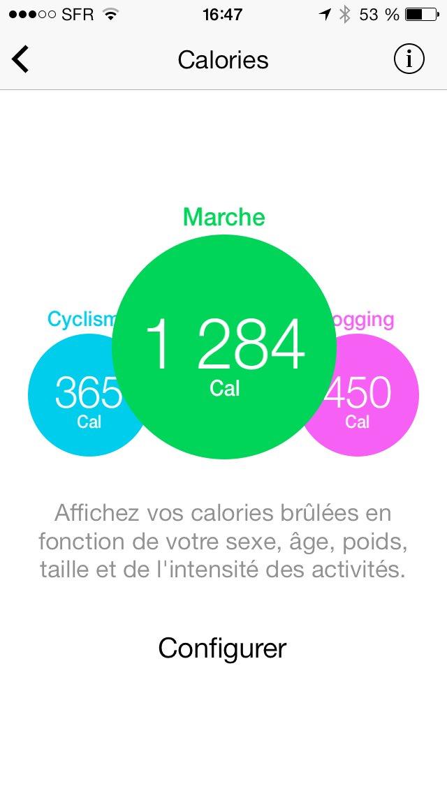 Moves facebook rach te l 39 application qui surveille l 39 activit physique mais de quoi s 39 agit il - Calculer les calories d un plat ...