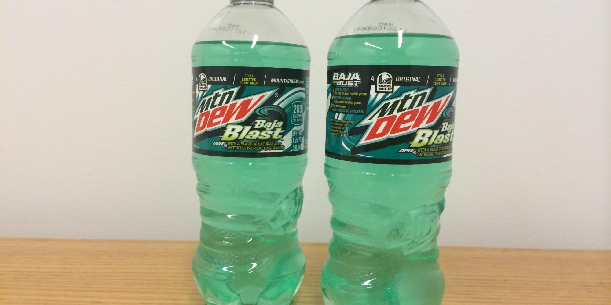 Mountain dew fanatics rejoice baja blast now comes in bottles the
