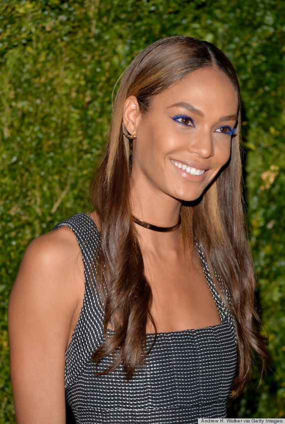 joan smalls lashes