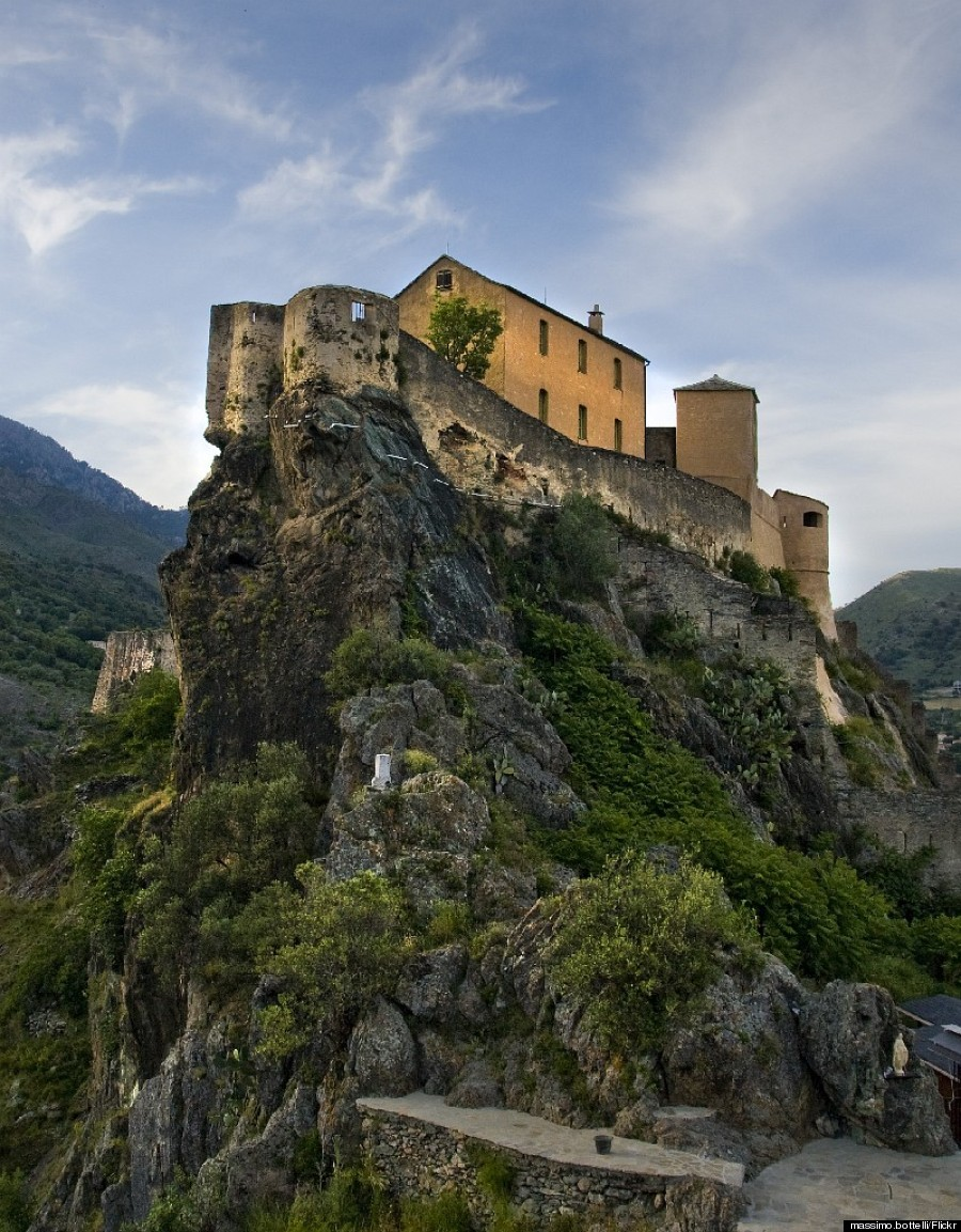 corsica cliff castle