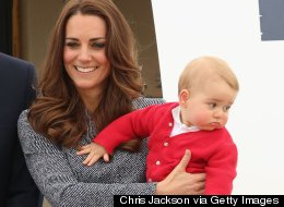 Prince George Snubs Australian PM, Probably Ready To Go Home