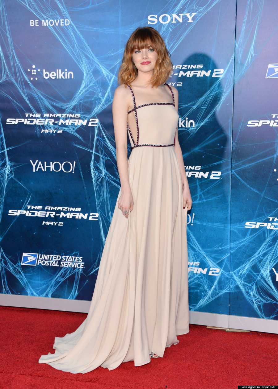 Emma Stone Proves That Pale Women Can Pull Off Light