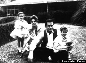 johnny cash family