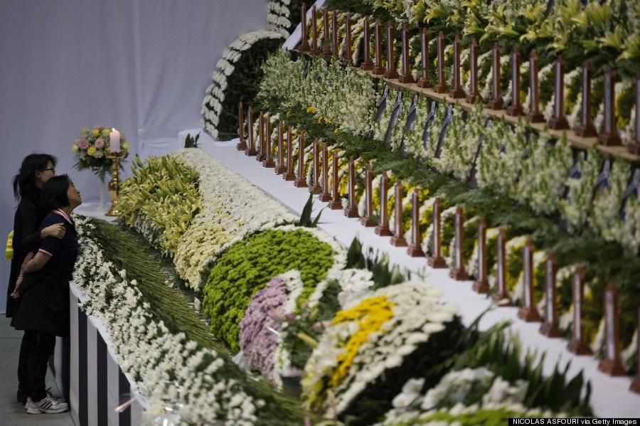 south korea ferry memorial