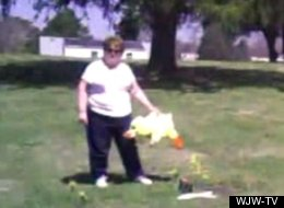 Woman Stole Toy From Child's Grave: Cops