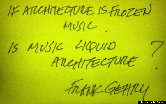 Frank Gehry Is Music Liquid Architecture