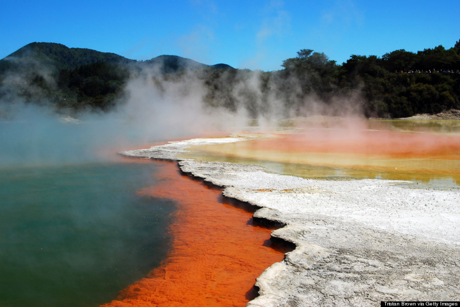waiotapu hot springs