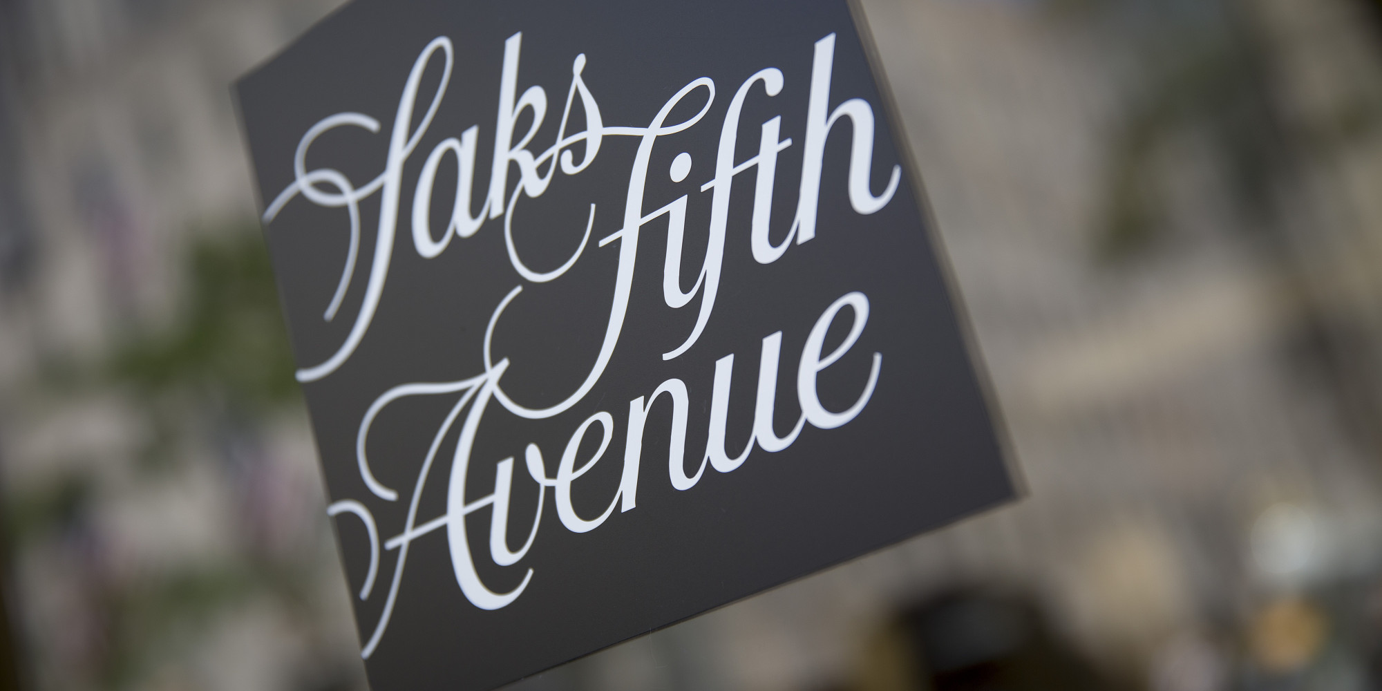 Saks Fifth Avenue Logo...