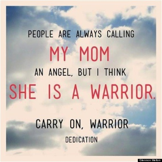my mother the angel my mother the warrior huffpost mom is a warrior