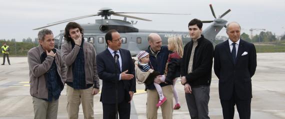 La France aurait payé une rançon de 18 millions de dollars pour libérer les journalistes otages
