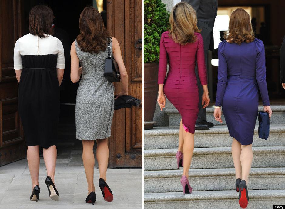 Princess Letizia Carla Bruni Michelle Obama. Carla met Princess Letizia