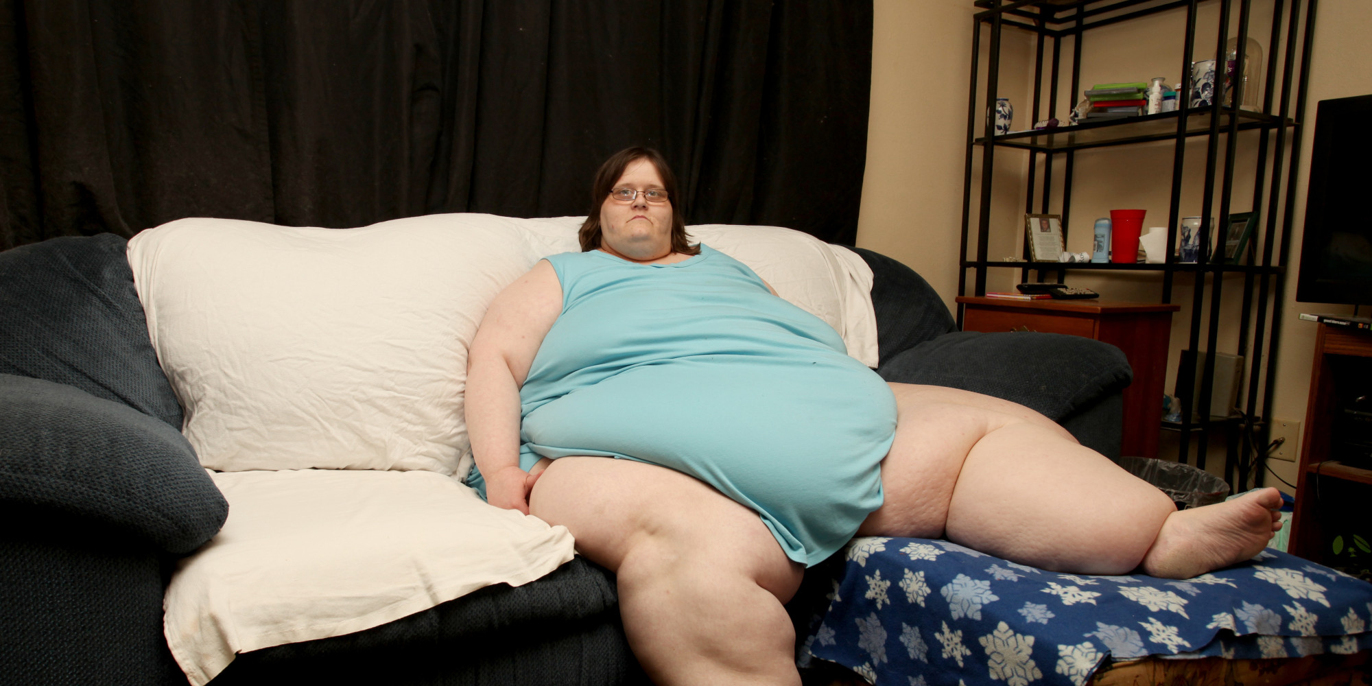 Consider, that biggest fattest woman in the world understand you