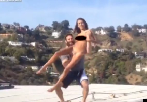 Janice griffith thrown of roof