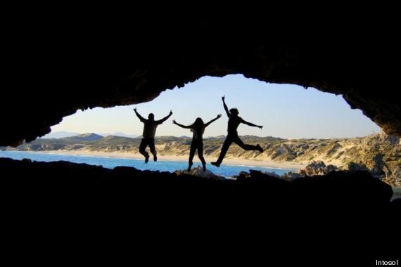 die höhlen walker bay