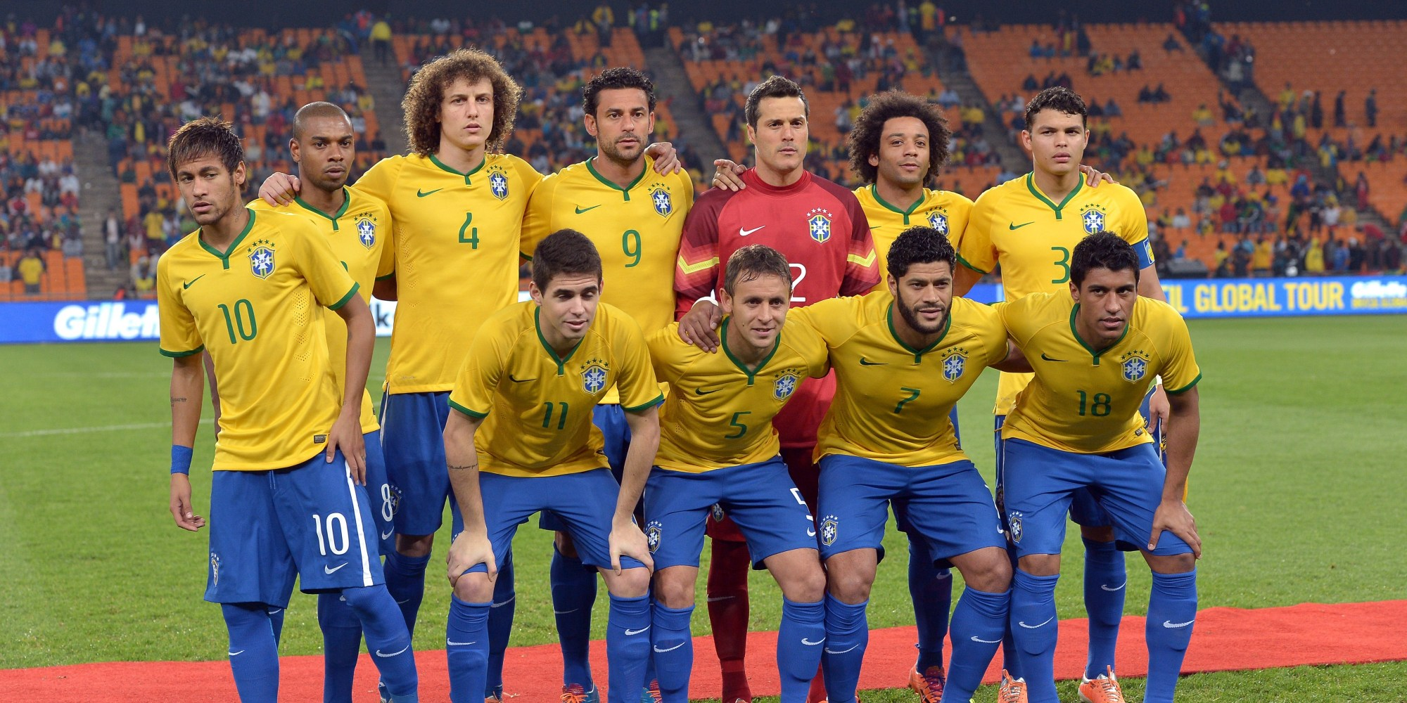 Preview of Luiz Felipe Scolari39;s Likely Brazil Squad for the 2014