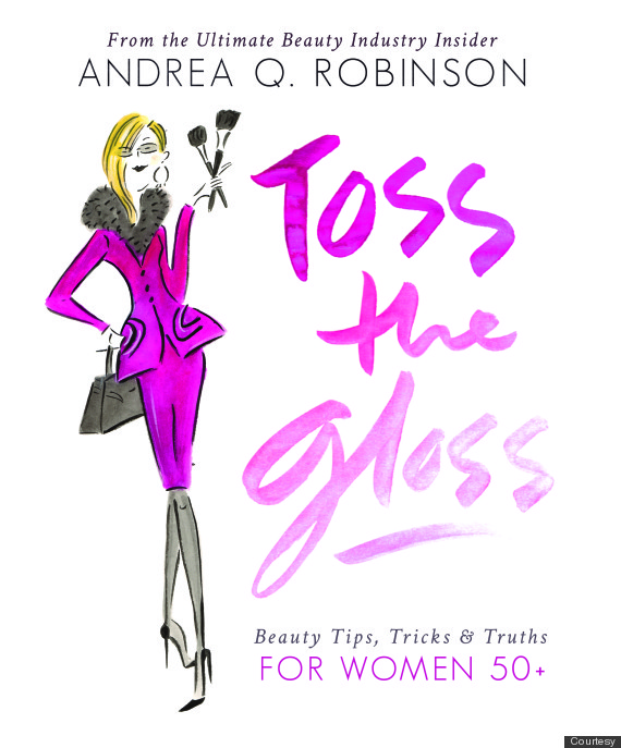 toss the gloss book cover