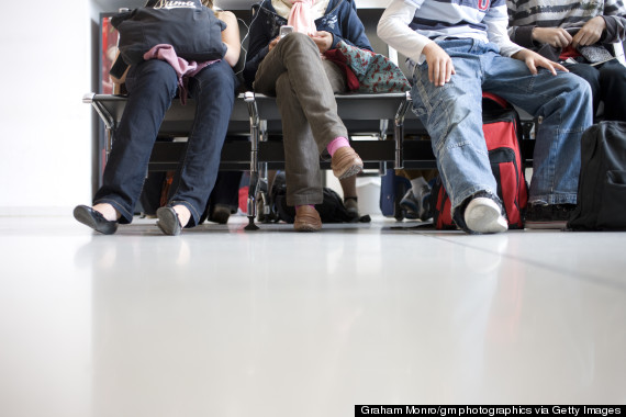 passengers bags airport