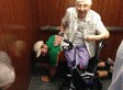 Man Lets Elderly Woman Stuck In Elevator Sit On Him In Kind Act Of Chair-ity