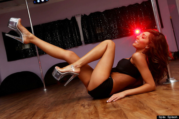 farrah pole dancing
