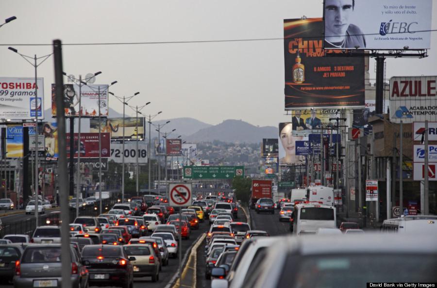 mexico city traffic