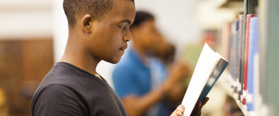 BLACK STUDENT IN SCHOOL