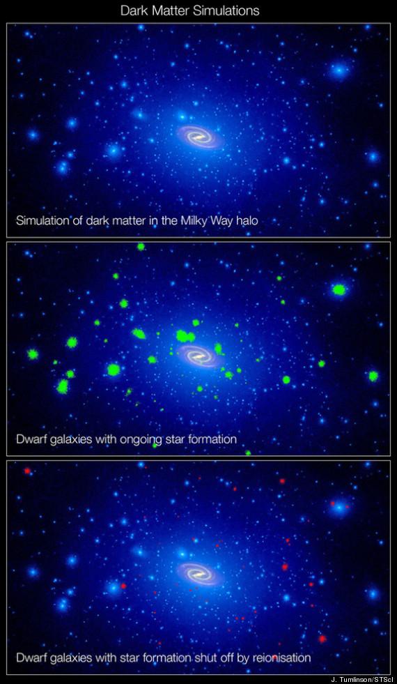 dark matter asteroid