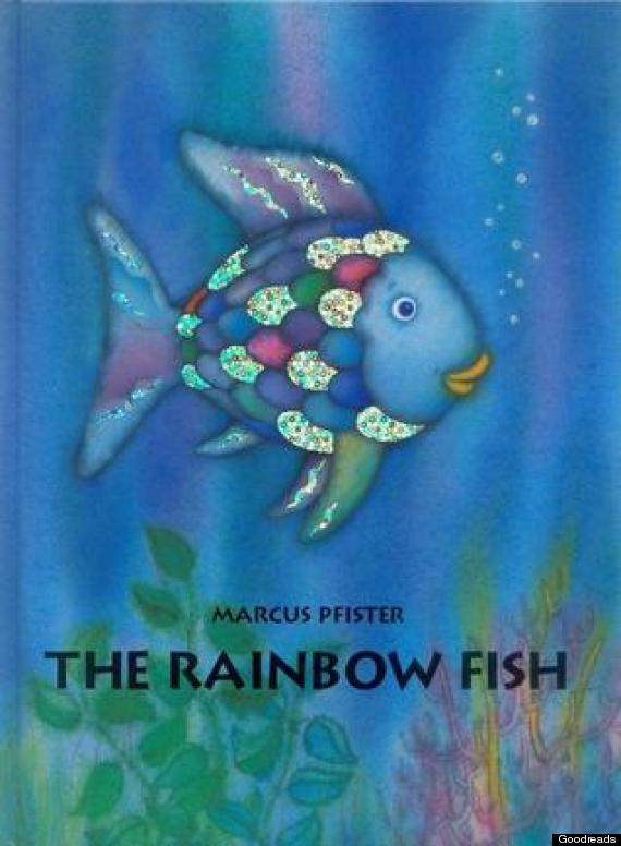 50 of the best kids 39 books published in the last 25 years for The rainbow fish